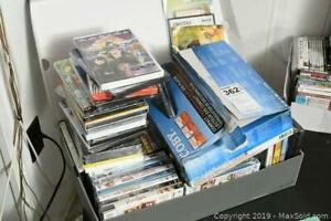 Children's DVDs And Player. B