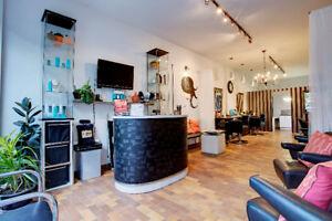 @@ Mile-End hair salon @@ est. 1950! Good clients, room to grow!