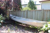 Aluminum canoe - 17 ft.