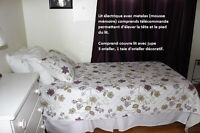 Lit électrique-TWIN-Electric Bed (négotiable-negotable) $1200