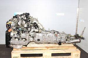 JDM SUBARU WRX EJ205 DOHC TURBO AVCS ENGINE 5SPEED 4X4 TRANS