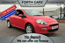 image for FIAT PUNTO EASY 2013 Petrol Manual in Red