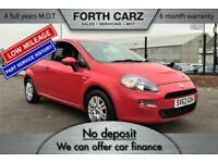FIAT PUNTO EASY 2013 Petrol Manual in Red