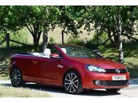 2013 Volkswagen Golf Gt Bluemotion Tec Td Auto Convertible Diesel Automatic