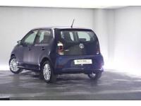 2017 Volkswagen UP Petrol blue Manual