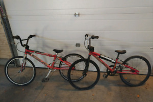 Two bmx mini's for sale