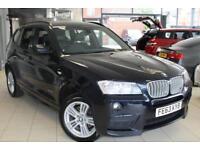 2013 63 BMW X3 3.0 XDRIVE30D M SPORT 5D AUTO 255 BHP DIESEL