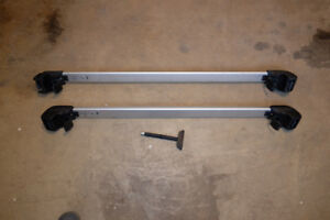 VW golf OEM Crossbars