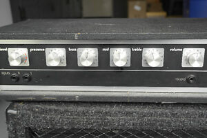 Amplifier head and cabinet  combo West Island Greater Montréal image 2