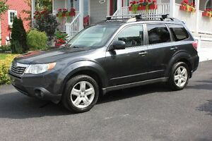 2010 Subaru Forester 2.5 X Limited–Cuir et Toit Ouvrant -10 750$