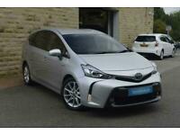 2019 Toyota Prius Plus 1.8 VVTi Excel TSS 5dr CVT Auto PETROL/ELECTRIC silver CV