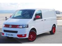 2012 VW TRANSPORTER T5 102 SWB T30 SPORTLINE KIT T5.1 GP 1-OWNER FSH