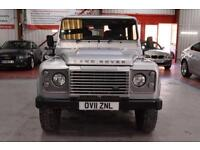 2011 11 LAND ROVER DEFENDER 2.4 90 TD XS STATION WAGON 1D 121 BHP DIESEL