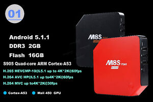 M8S Plus Android Tv Box - Free Movies Free Tv - XBMC/Kodi 16.1