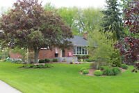 Beautiful home on a huge landscaped lot in Petrolia for sale