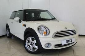 2009 59 MINI HATCH ONE 1.4 ONE 3DR PEPPER PACK 94 BHP