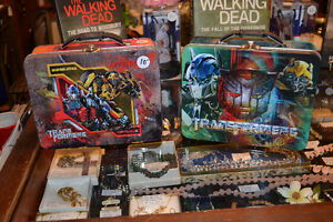 Various Tin Lunch Boxes ~ Transformers, Tinkerbell, Avenger etc. Windsor Region Ontario image 2