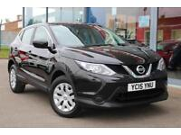 2015 NISSAN QASHQAI 1.5 dCi Visia GBP0 TAX, BLUETOOTH, CRUISE and AIR CON