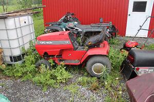 tracteur a gazon yardman