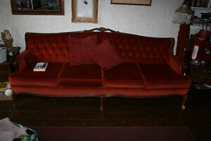 French Provincial Sofa and Chair, Antique Set Kawartha Lakes Peterborough Area image 3