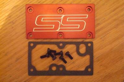 Tpi Lt1 SS Throttle Body Cover Plate Gasket Screws Red Camaro Z28