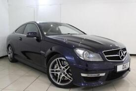 2013 63 MERCEDES-BENZ C CLASS 6.2 C63 AMG 2DR AUTOMATIC 457 BHP