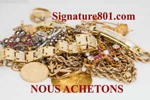 ACHETONS L'OR,  Achat D'or, ARGENT, PLATINE, GOLD BUYERS MTL