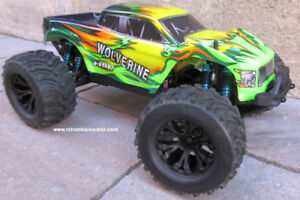 New Wolverine RC Truck Bushless Next-Gen Chassis RTR 4WD LIPO