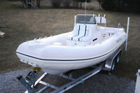 2006 Nautica Inflatable with DIESEL inboard