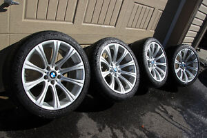 BMW M5 (E60) OEM Rims on Tires - Great Condition!