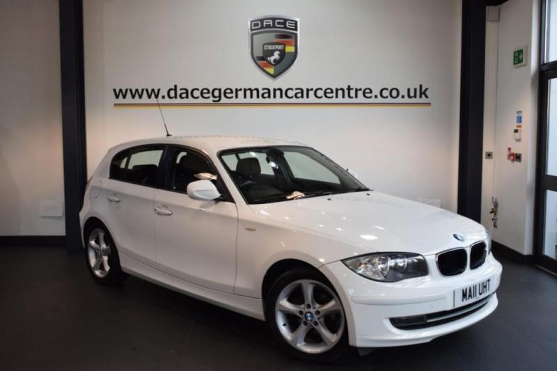 2011 11 BMW 1 SERIES 2.0 116I SPORT 5DR 121 BHP