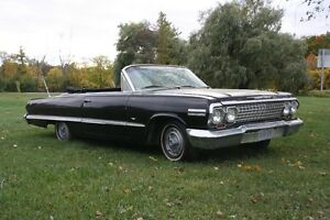 1963 chevy impala ss for sale