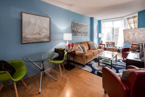 Downtown waterfront condo for rent