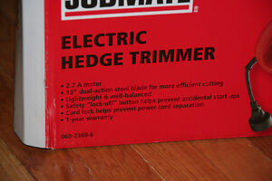 New in Box: Jobmate Electric Hedge Trimmer Kitchener / Waterloo Kitchener Area image 2