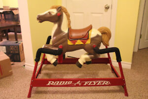 Radio Flyer Rocking Bouncy Horse