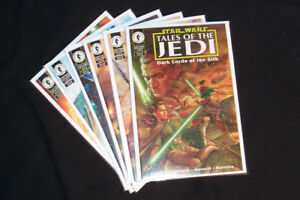 1994 Star Wars Tales of the Jedi: Dark Lords of the Sith #1-6