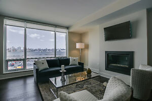 STUNNING WATER VIEW FROM YOUR FURNISHED APARTMENT AT KINGS WHARF