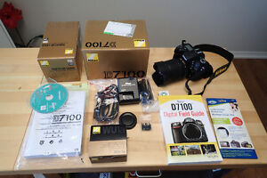 For Sale Nikon D7100 with 18 -105 Lens.