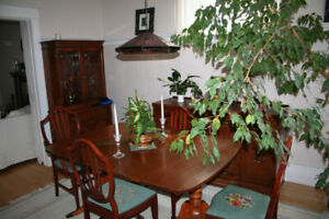 Classic Family Heirloom Antique Dining Room Set
