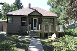 Renovated & furnished 2 bdrm bsmt suite near Augustana gate