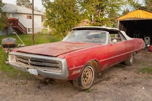1969 chrysler 300 convertible for body parts