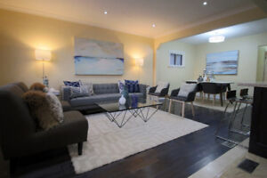 Renovated 3 bedroom main floor available, Scarborough, $2,000.