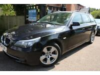2007 BMW 5 SERIES 520d SE Touring Black Estate FSH Long MOT FINANCE AVAILABLE