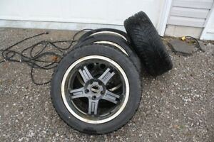 4 snow tires and rims