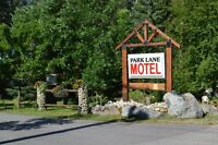 Comercial motel and camp ground for sale christina lake