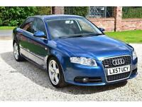 AUDI A4 2.0 S-Line 4dr, Blue, Manual, Petrol, 2007