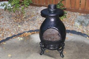 Pot Belly Fire Pit / Stove