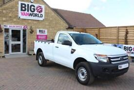 2014 FORD RANGER XL 4X4 SINGLE CAB TDCI 150 PICK UP DIESEL