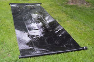 Solar water panels (for pools)