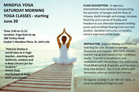 Yoga - Saturday Morning Classes - Moderate/Intermediate